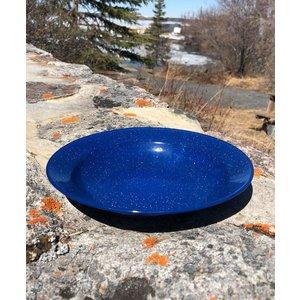 World Famous World Famous Blue Enamel Soup Plate (#716)