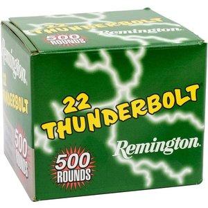 Remington Remington Thunderbolt .22 (500 Rounds) 1255 FPS / 40 Grain