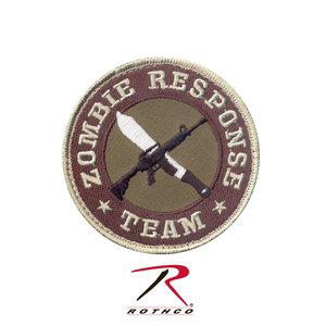 Rothco Zombie Response Team Patch (Velcro) Tan / Woodland