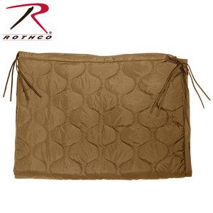 Rothco Rothco TAN Poncho Liner (Zipper) #88477