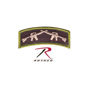 Rothco Crossed AR Rifles Shoulder Patch (Velcro)