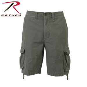 Rothco Vintage INFANTRY Shorts (OLIVE DRAB)
