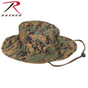 Rothco Rothco Woodland Digital Boonie Hat (Stretch Fit) 52550