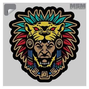 Milspec Monkey Aztec Warrior Decal