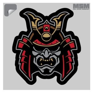 Milspec Monkey Samurai Head 1 Decal