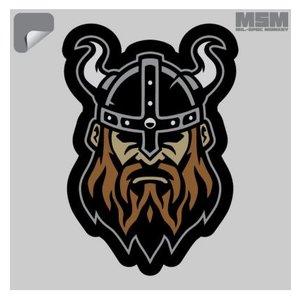 Milspec Monkey Viking Head 1 (Horns) Decal