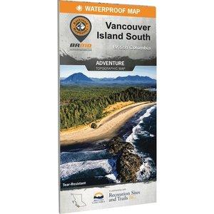 Backroad Maps Backroads MAP (Vancouver Island South) Waterproof