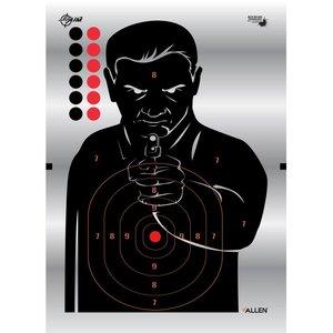 "Allen Company Allen EZ Aim Reflective Silhouette Target 4 PACK (13""x18"") #15234"