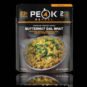 PEAK PEAK Butternut DAL Bhat Meal (Freeze Dried) 166G