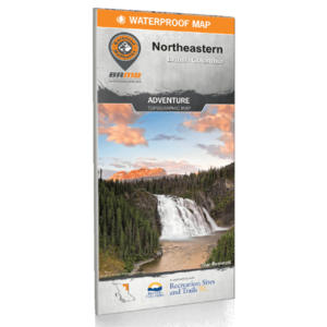 Backroad Maps Backroads MAP (Northeastern BC)