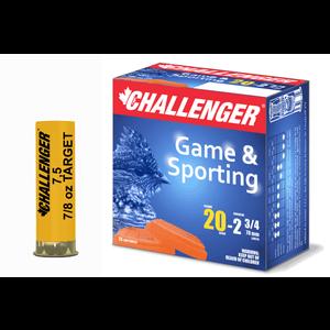 "Champion Challenger Sporting 20 Gauge 2-3/4"" #7.5 Target Load"