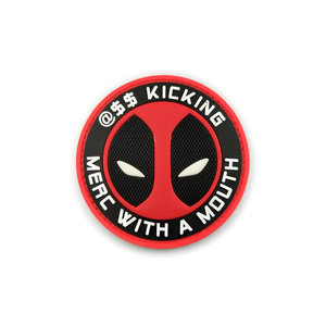 """Tactical Innovations Deadpool PVC Patch (Merc With A Mouth) 2.5"""""""