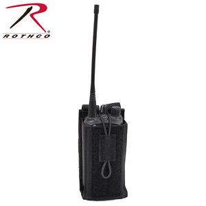 Rothco Rothco Radio Molle Pouch (BLACK) 5229