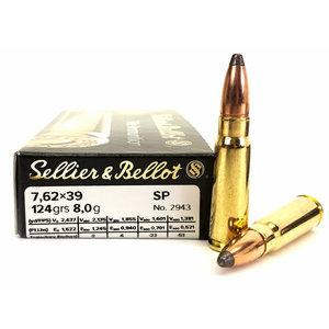 Barnaul Sellier & Bellot 7.62x39mm SP 124 Grain