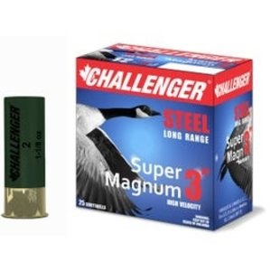 Challenger Challenger Super Magnum Long Range Steel 3 Inch #2 (1-1/8oz)