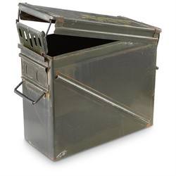 Used Metal Ammo Boxes
