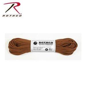 Rothco Nylon Type III 550 Paracord 100ft - Chocolate Brown