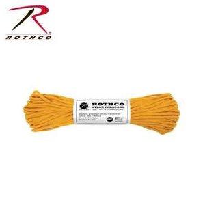 Rothco Nylon Type III 550 Paracord 100ft - Golden Rod