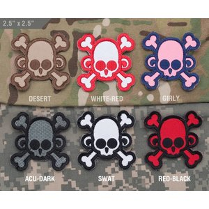 Milspec Monkey Skullmonkey - Crossbones Patch