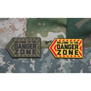 Milspec Monkey Danger Zone PVC Patch