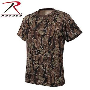 Rothco Kid's Smokey Branch Camo T-Shirt