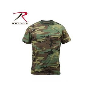 Rothco Kid's Woodland Camo T-Shirt