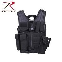 Rothco Rothco Kid's Tactical Vest (Black)
