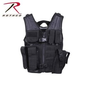 Rothco Rothco Kid's Tactical Vest (Black)