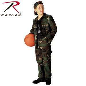 Rothco Kid's Woodland BDU Top