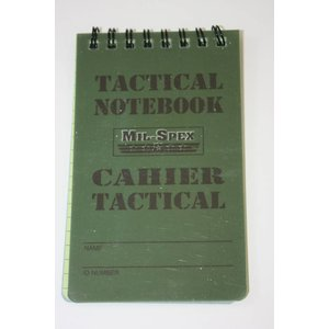 "Mil-Spex Mil-Spex Tactical Notebook - 3"" x 5"" (MAG10)"