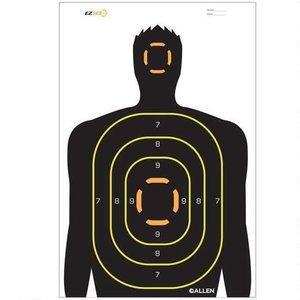 "Allen Company Allen Silhouette Target 5 PACK (12""x18"") Splash"