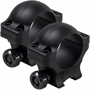 "Vism/NcStar Vism Hunter Series 1"" Dovetail Scope Rings - 0.9"" Height (VR38D09)"