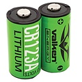 Valken Valken Energy CR123a Lithium Batteries (Pack of 2)