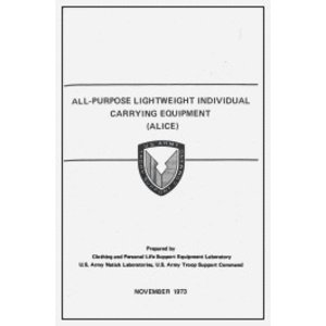 Repro Manuals All-Purpose Lighweight Individual Carrying Equipment (ALICE) Manual