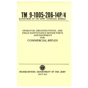 Repro Manuals Commercial Rifle Technical Manual