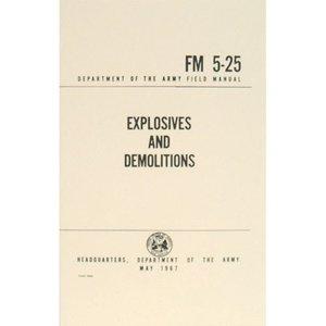 Explosives & Demolitions Field Manual
