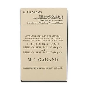 Repro Manuals M1 Garand Technical Manual