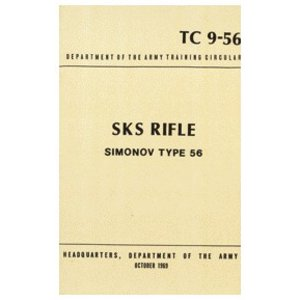 Repro Manuals SKS Simonov Type 56 Training Manual