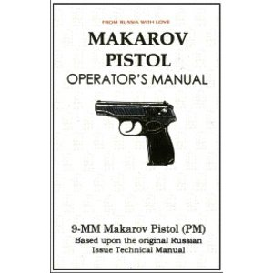 Repro Manuals Makarov Pistol Operator's Manual
