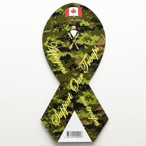 CANEX Support Our Troops Magnet - CADPAT