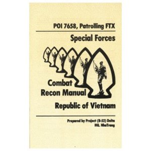 Repro Manuals Special Forces Combat Recon Manual (Vietnam) Manual