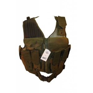 Mil-Spex Mil-Spex M-71 Tactical Vest Olive Drab