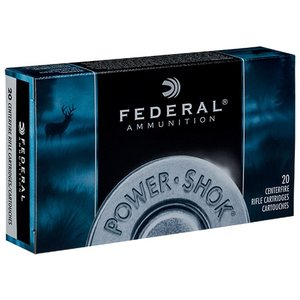 Federal Federal Power-Shok 8mm Mauser 170 Grain Soft Point