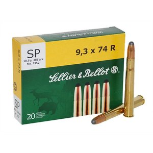 Sellier & Bellot Sellier & Bellot 9.3x74 R (285 Grain SP)