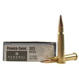 Federal Federal Power-Shok 303 British 150 Grain SP