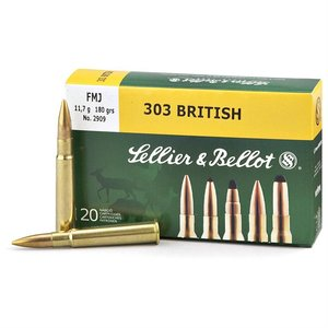 Sellier & Bellot Sellier & Bellot 303 British (180 Grain FMJ)