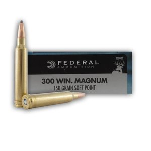 Federal Federal Power-Shok 300 Winchester Magnum (150 Grain SP)