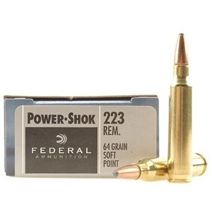 Federal Federal Power-Shok 223 Remington (64 Grain SP)