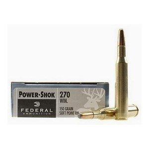 Federal Federal Power-Shok 270 Winchester (150 Grain SP RN)