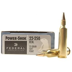 Federal Federal Power-Shok 22-250 Remington (55 Grain SP)
